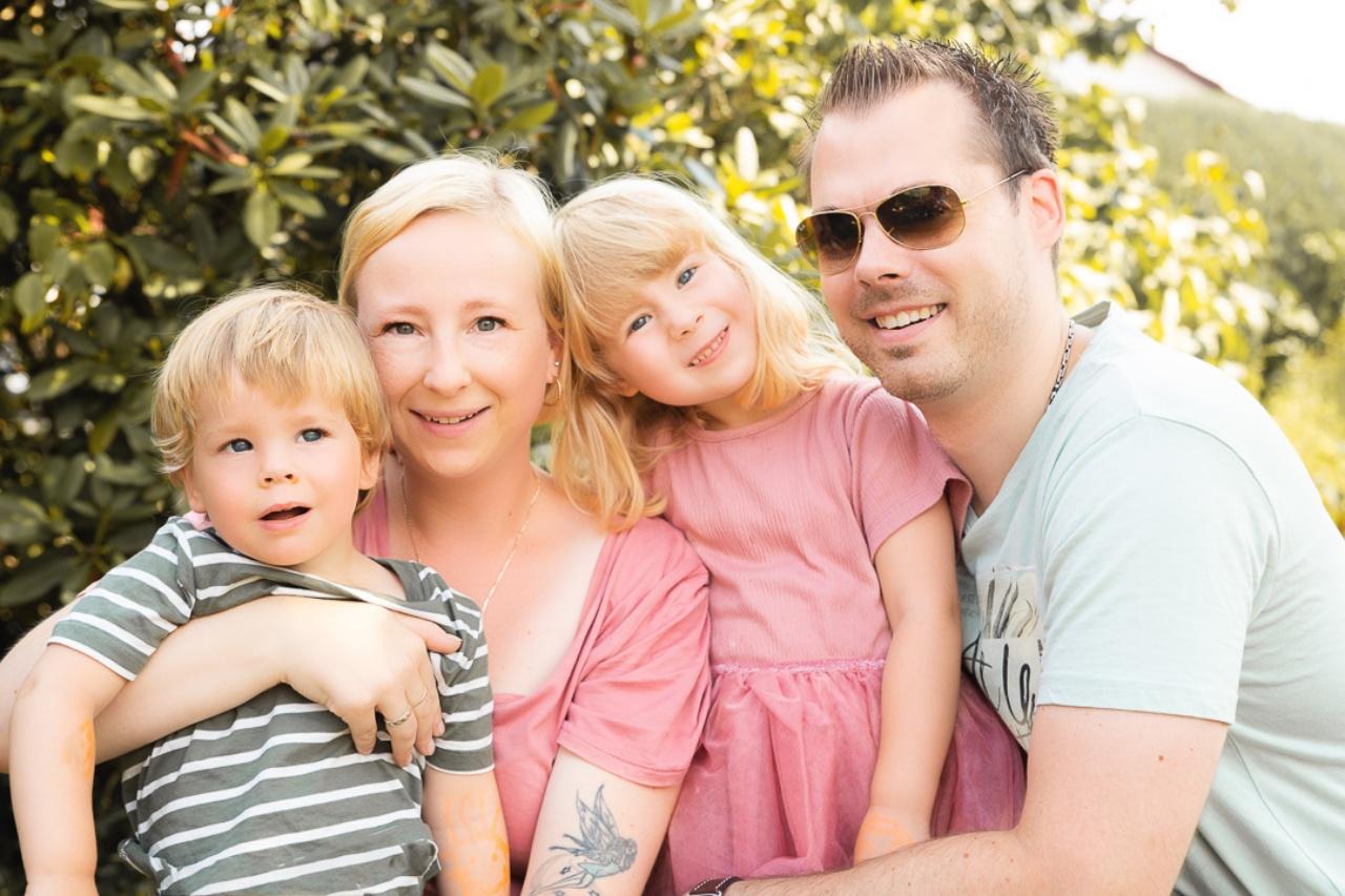 Die Fotografin mit Herz und ihre Familie