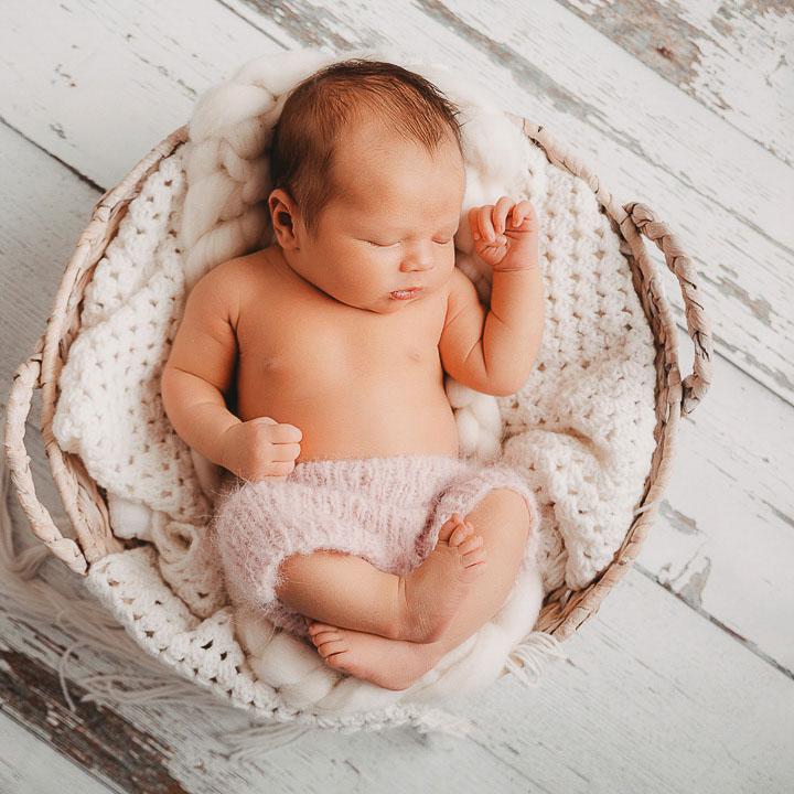 Newborn schlafend